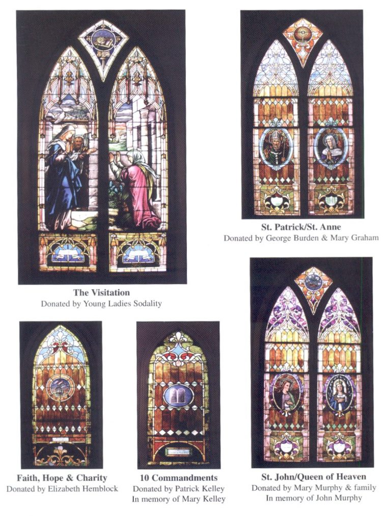 Picture of Stain Glass Windows at St Mary